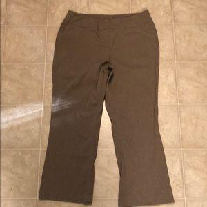 Alia  light brown stretch pants